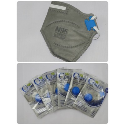 ماسک تنفسی N95 فیلتر دار 6 لایه Cured